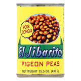 El Jibarito Pigeon Peas, 15.5 OZ (Pack of 24)