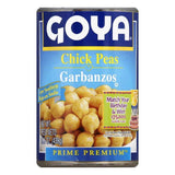 Goya Garbanzos Chick Peas, 15.5 Oz (Pack of 24)