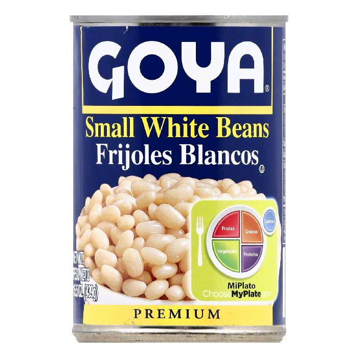 Goya Premium Small White Beans, 15.5 OZ (Pack of 24)