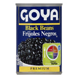 Goya Premium Black Beans, 15.5 OZ (Pack of 24)