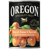 Oregon Fruit Products Pitted Light Sweet Royal Anne Cherries in Heavy Syrup 15 Oz  (Pack of 8)