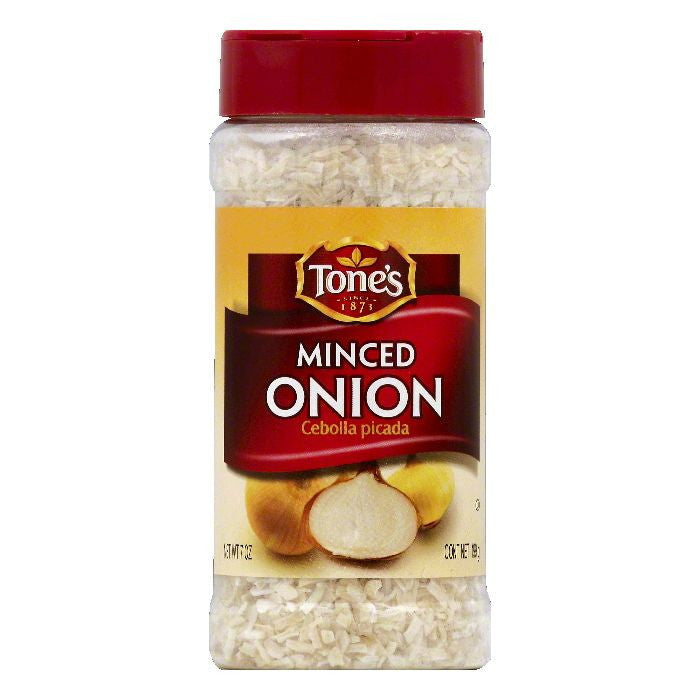 Tones Minced Onion, 7 OZ  ( Pack of  6)