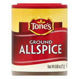 Tones Ground Allspice, 0.6 OZ (Pack of 6)