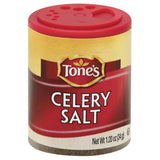 Tones Celery Salt, 1.2 Oz (Pack of 6)