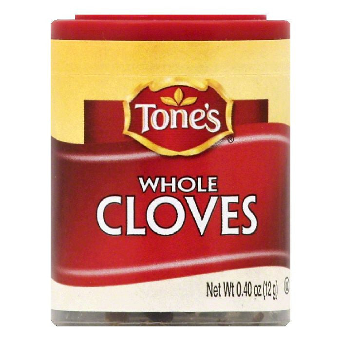 Tones Whole Cloves, 0.4 OZ (Pack of 6)