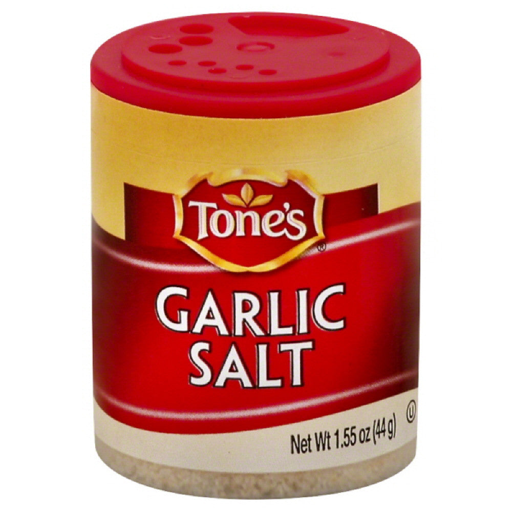 Tones Garlic Salt, 1.55 Oz (Pack of 6)