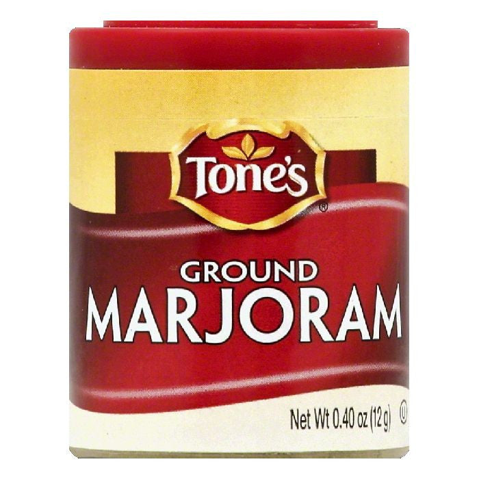 Tones Ground Marjoram, 0.4 OZ (Pack of 6)
