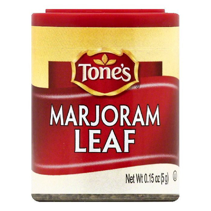 Tones Marjoram Leaf, 0.15 OZ (Pack of 6)