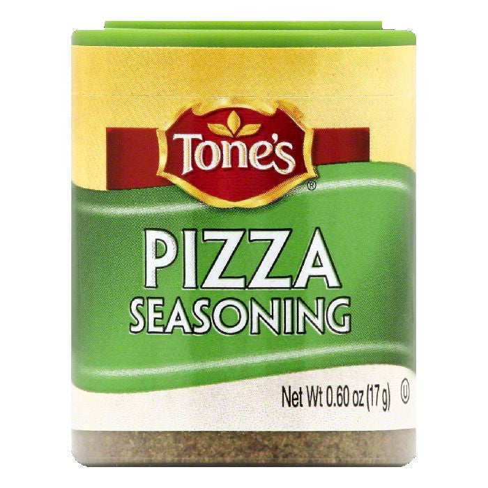 Tones Pizza Seasoning, 0.6 OZ (Pack of 6)