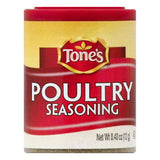Tones Poultry Seasoning, 0.4 OZ (Pack of 6)