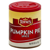 Tones Pumpkin Pie Spice, 0.65 Oz (Pack of 6)