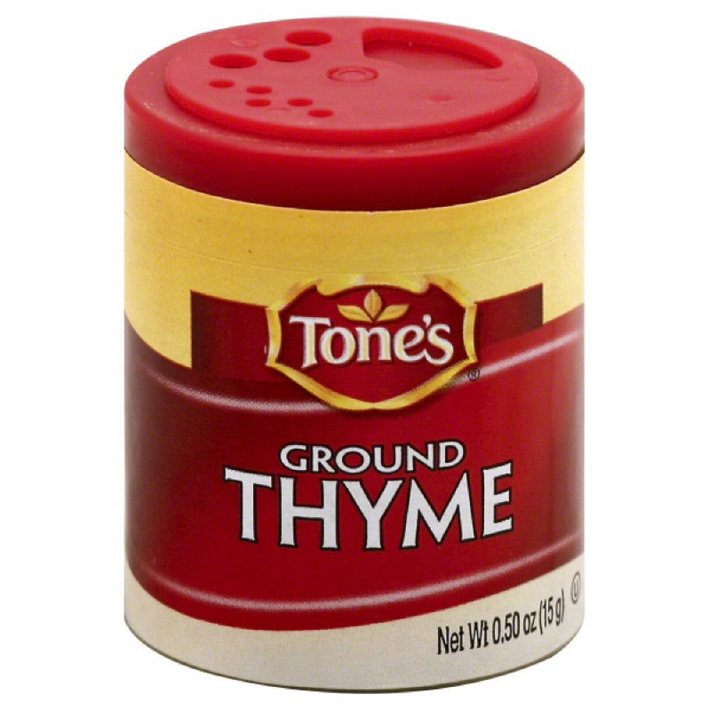 Tones Ground Thyme, 0.5 Oz (Pack of 6)