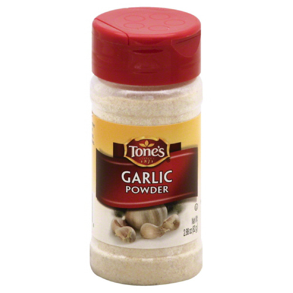 Tones Garlic Powder, 2.88 Oz (Pack of 6)