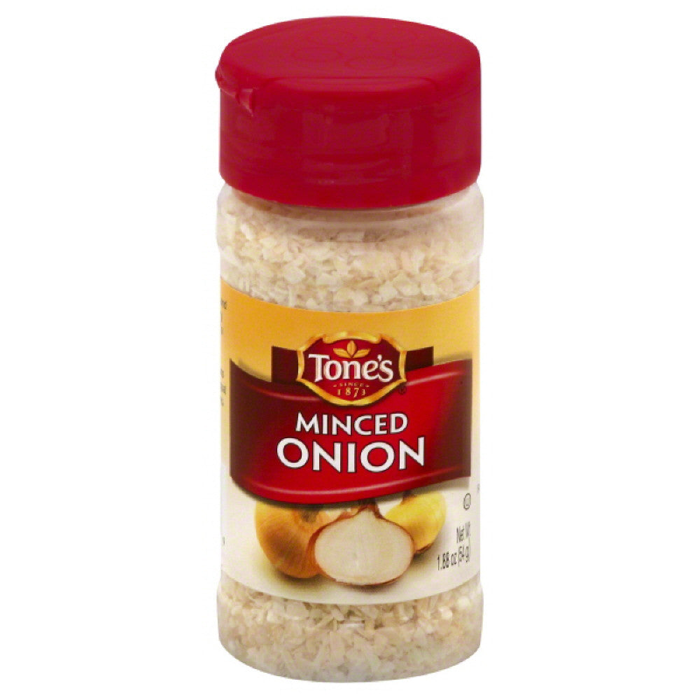 Tones Minced Onion, 1.87 Oz (Pack of 6)
