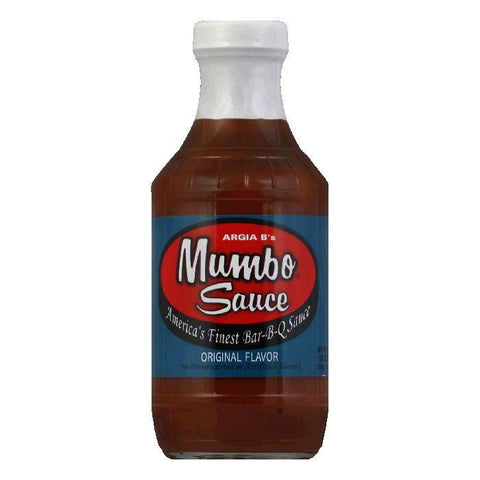 Mumbo BBQ Mild BBQ Sauce, 18 OZ (Pack of 6)