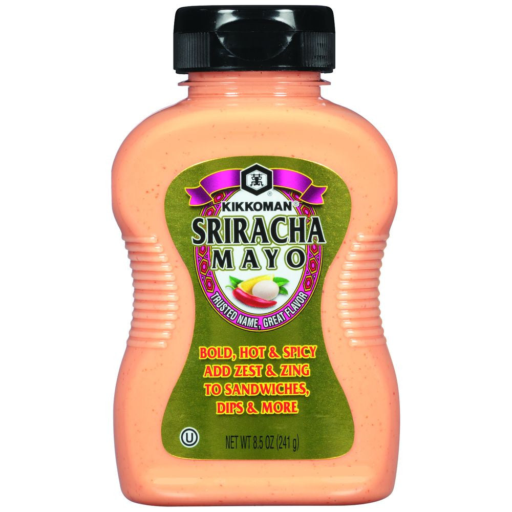 Kikkoman Sriracha Mayo, 8.5 Oz (Pack Of 9)