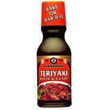 Kikkoman Sauce Teriyaki Baste & Glaze, 12 OZ (Pack of 6)