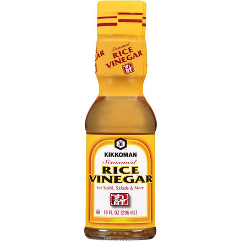 Kikkoman Seasoned Rice Vinegar 10 fl. Oz   ( Pack of  6)