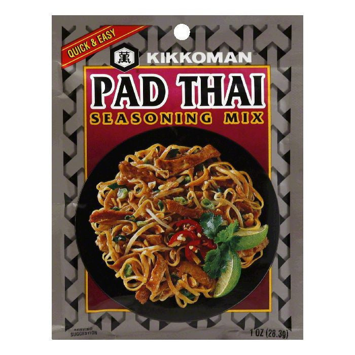 Kikkoman Seasoning Mix Pad Thai, 1 OZ (Pack of 24)