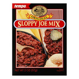 Tempo Sloppy Joe Mix, 2 OZ (Pack of 12)