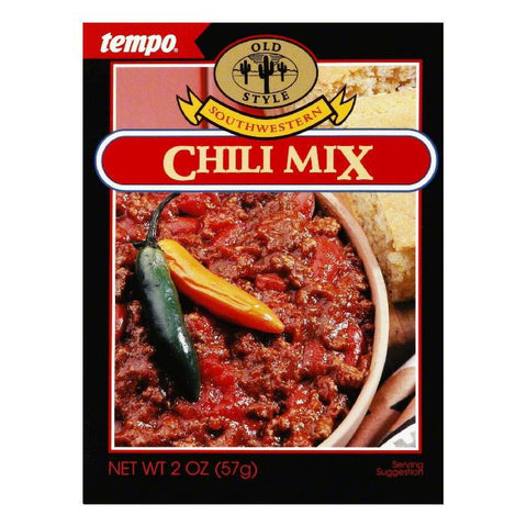 Tempo Chili Mix With Tomato, 2 OZ (Pack of 12)