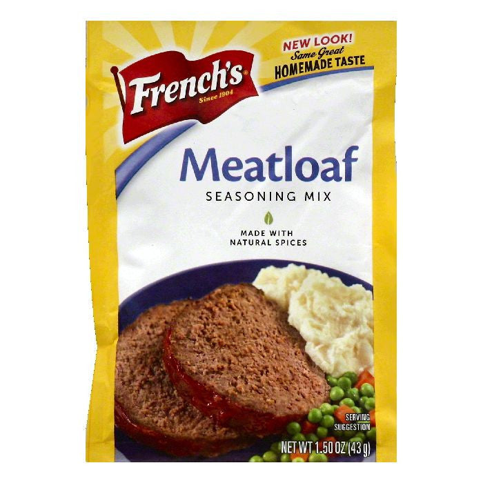 Frenchs Meatloaf Seasoning Mix, 1.5 OZ (Pack of 24)