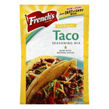 Frenchs Original Taco Seasoning Mix, 1.25 OZ (Pack of 24)