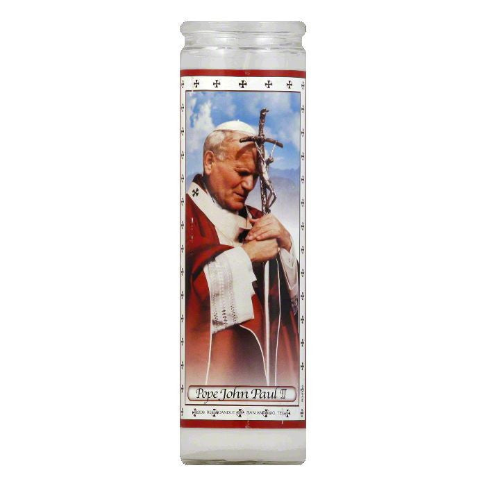 Reed Candle Pope John Paul II Candle, 1 ea (Pack of 12)