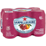San Pellegrino Melograno E Arancia Sparkling Pomegranate and Orange Beverage 6-11.15 fl. Oz s (Pack of 4)