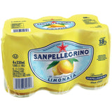 San Pellegrino Limonata Sparking Lemon Beverage 6-11.15 fl. Oz s (Pack of 4)