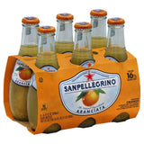 Sanpellegrino Orange Sparkling Beverage, 40.5 Fo (Pack of 4)
