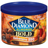 Blue Diamond Almonds Bold Habanero BBQ Almonds 6 Oz  (Pack of 12)
