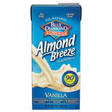 Blue Diamond Almonds Almond Breeze Vanilla Almondmilk 32 fl. Oz Carton (Pack of 12)