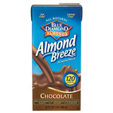 Blue Diamond Almonds Almond Breeze Chocolate Almond Milk Non Dairy Milk Alternative 32 fl. Oz Aseptic Pk (Pack of 12)