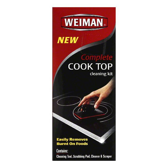 Weiman Complete Cook Top Cleaning Kit, 4 PC (Pack of 6)