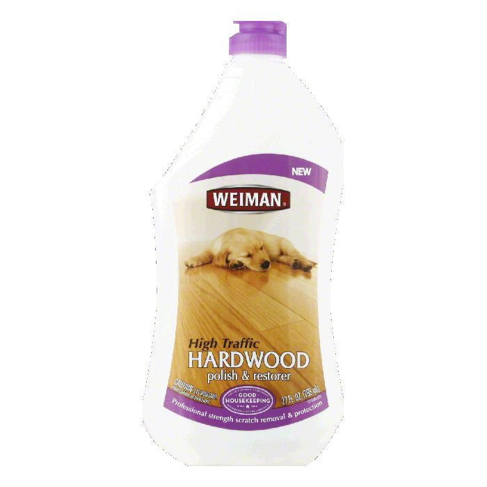 Weiman High Traffic Hardwood Polish & Restorer, 27 Oz (Pack of 6)