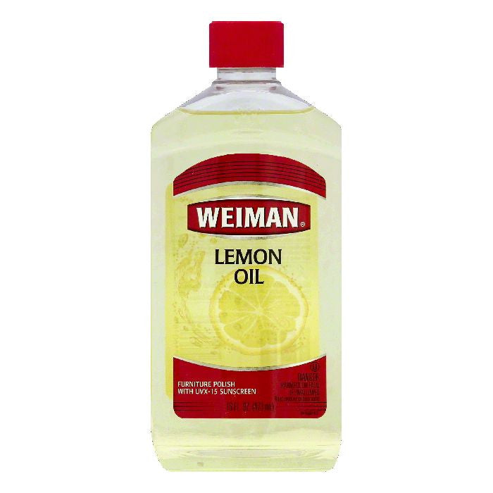 Weiman Lemon Oil Furniture Polish, 16 OZ (Pack of 6)