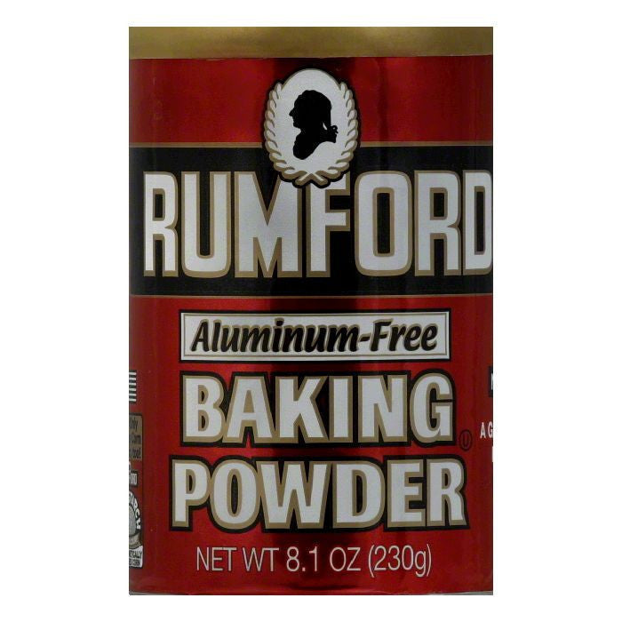 Rumford Gluten Free Baking Powder, 8.1 OZ (Pack of 12)