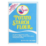 Swan Potato Starch Flour, 12 OZ (Pack of 12)