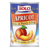 Solo Filling Apricot, 12 OZ (Pack of 6)