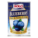Solo Blueberry Cake & Pastry Filling, 12 OZ (Pack of 12)