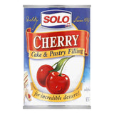 Solo Filling Cherry, 12 OZ (Pack of 6)