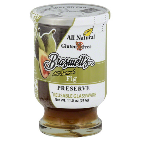 Braswells Fig Preserves, 11 Oz (Pack of 6)