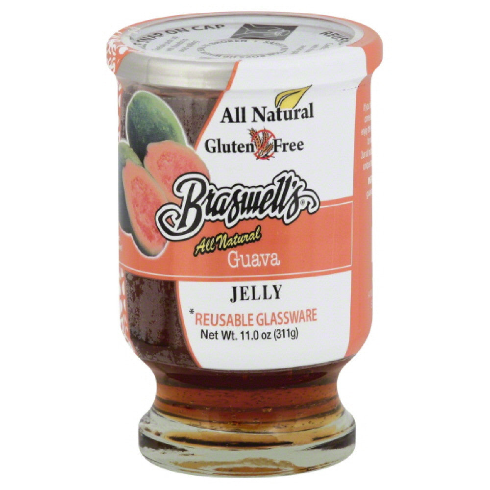 Braswells Guava Jelly, 11 Oz (Pack of 6)