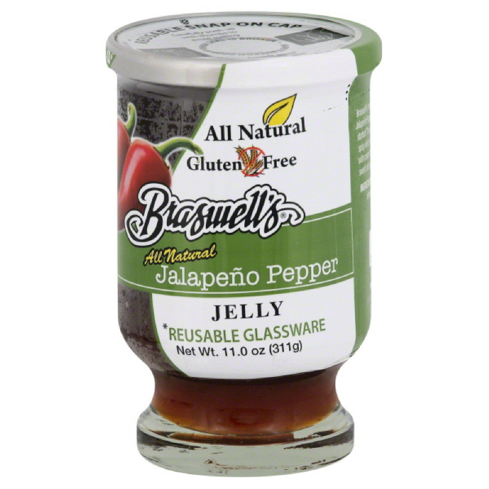 Braswells Jalapeno Pepper Jelly, 11 Oz (Pack of 6)