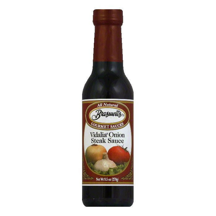 Braswell Steak Sauce Vidalia, 9.5 OZ (Pack of 6)