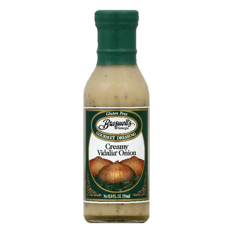 Braswells Creamy Vidalia Onion Gourmet Dressing, 12 OZ (Pack of 6)