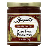 Braswells Pure Pear Preserves, 11.5 OZ (Pack of 6)