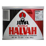 Joyva Marble Halvah Cans, 16 OZ (Pack of 6)