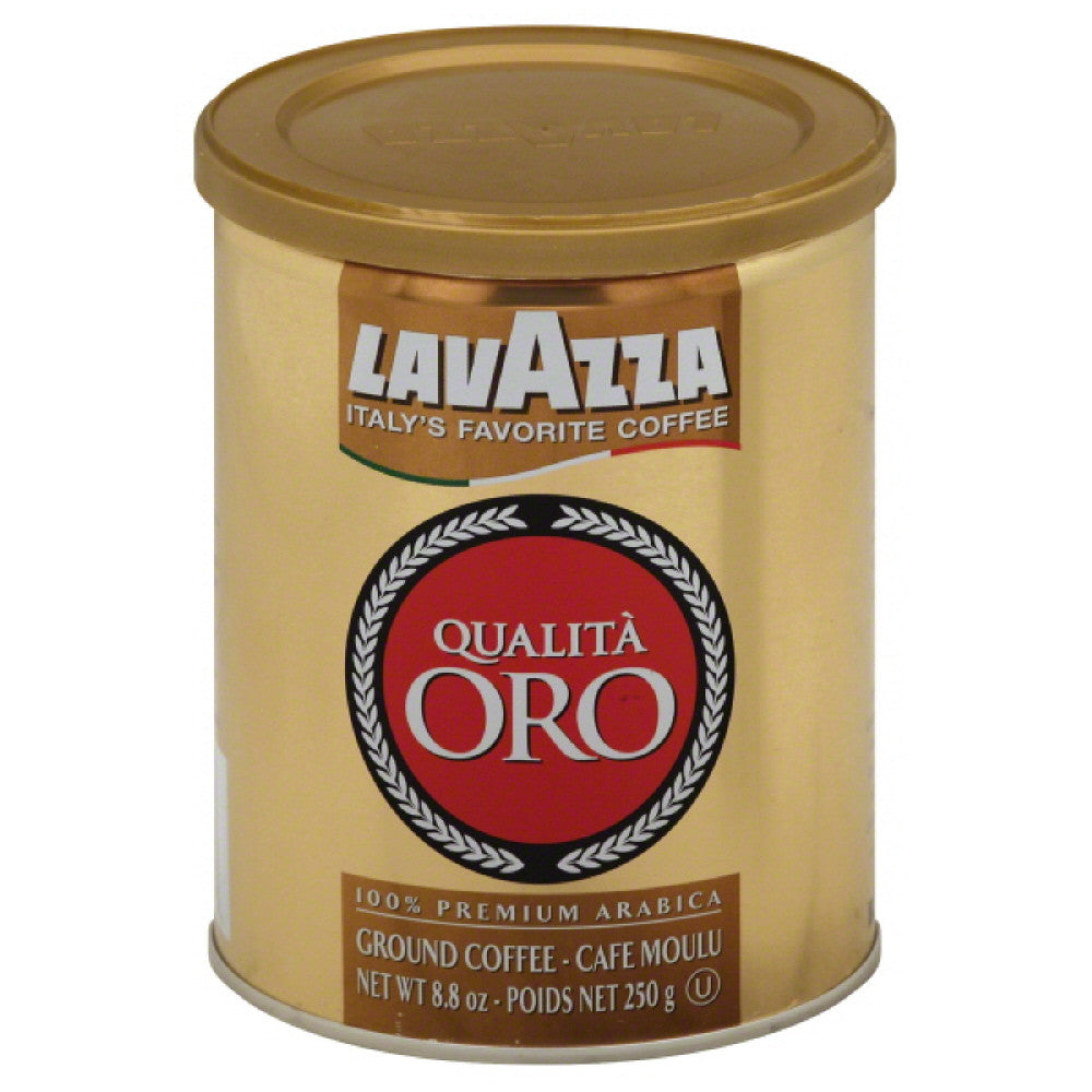 LavAzza Quality Gold Ground Coffee, 8.8 Oz (Pack of 12)